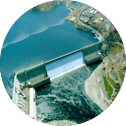 A Dam from above